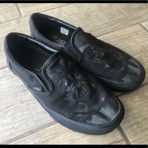 Vans Shoes - Vans Star Wars Classic Slip On Darth Vader Men 6